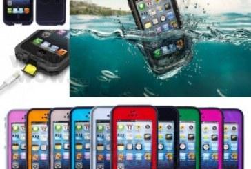 כיסוי מגן נגד מים לסמארטפון אייפון וגלקסי