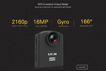 מידע חדש על מצלמת אקסטרים SJCAM M20
