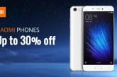 עד 30% הנחה על סמארטפונים של שיאומי Xiaomi