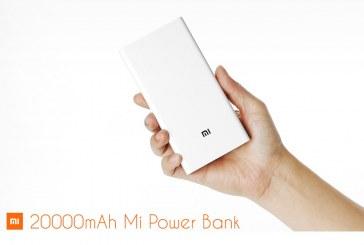 סוללת גיבוי שיאומי XIAOMI 20000mAh Power Bank