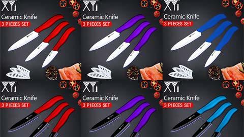 סט סכיני מטבח מבית XYJ